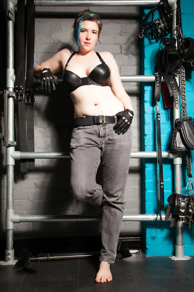 London Leather fetish femdom