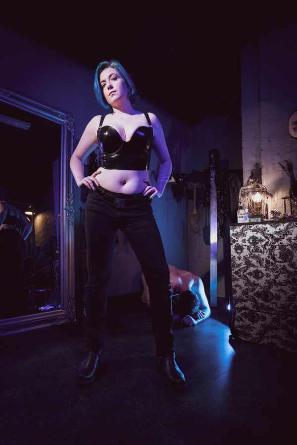 powerful latex fetish Mistress London