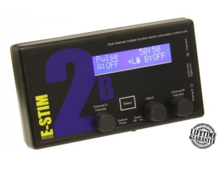 e-stim 2b electrosex unit
